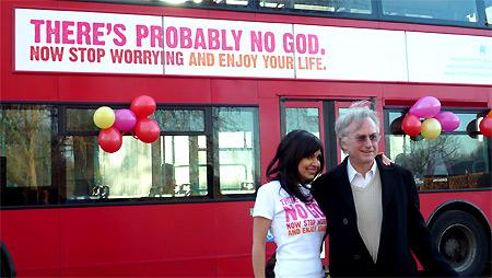 Journalistin Ariane Sherine, Atheist Bus Campaign, Januar 2009, Zoe Margolis