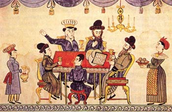 Jews Celebrating Passover