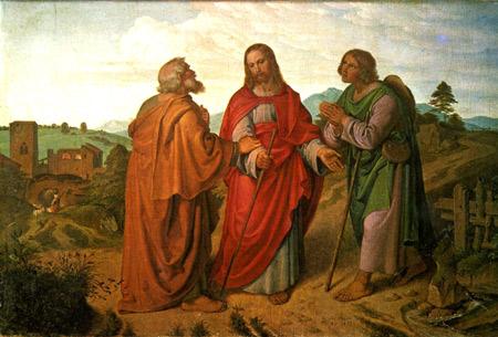 'Der Gang nach Emmaus, Joseph von Führich, 1837'