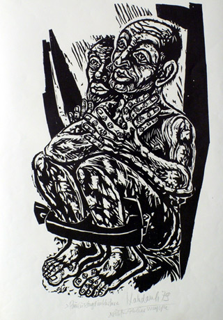 'Paulus singt im Kerker', 1979 - Walter Habdank. © Galerie Habdank