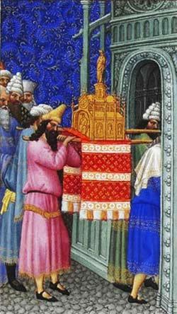 El Arca introduciéndose en el Templo