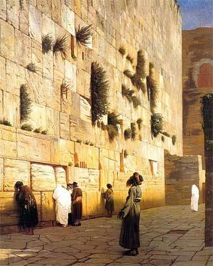 'Solomon's Wall, Jerusalem', Jean-Léon Gérôme