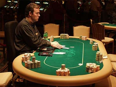 'Poker Table', 2007, flipchip / LasVegasVegas.com