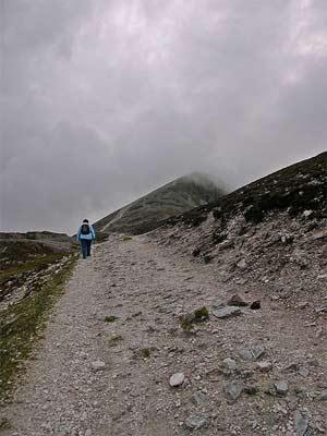 'Pilgrimage path of Croagh Patrick ', code poet, 2005