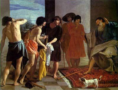 'Joseph's Bloody Coat', 1630 - Diego Velázquez