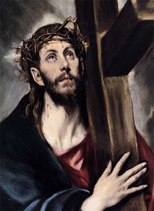 'Christ Carrying the Cross', EL GRECO - 1580
