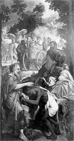 'The Baptism of the Eunuch', Jan van der Elburcht, 1550-1563