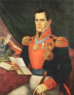 'Antonio López de Santa Anna', Mitte des 19. Jhd, DO'Neil, 2005