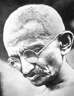 Portrait of Gandhi in 1931