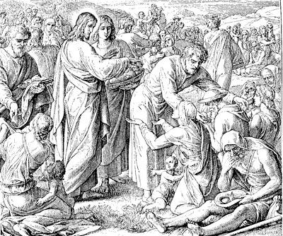 'Holzschnitt aus 'Die Bibel in Bildern', Julius Schnorr von Carolsfeld, 1851-1860