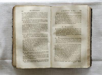 'Eine persönliche Bibel von Mutter Maria Bernarda in der Altstättener Kloster Maria Hilf', Wici, 2009