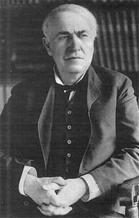 'Thomas Alva Edison', Current History of the War v.II (April 1915 - September 1915). New York: New York Times Company.
