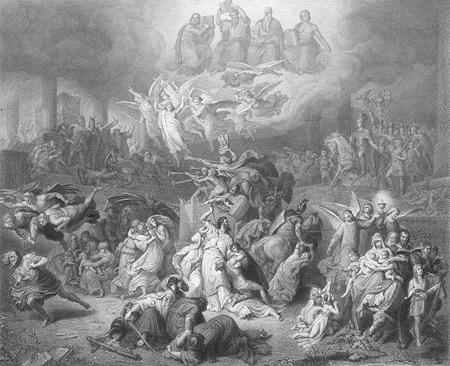 'Die Zerstörung von Jerusalem', Wilhelm von Kaulbach, 1871