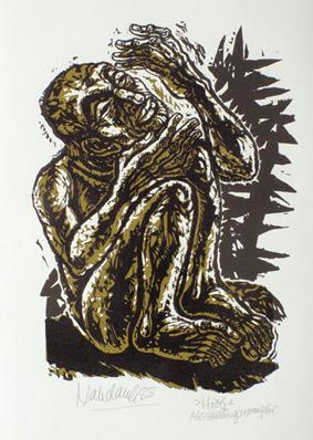 'Hiob', 1988 - Walter Habdank. © Galerie Habdank