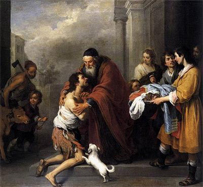 'Return of the Prodigal Son', c. 1667-1670, Bartolomé Esteban Perez Murillo