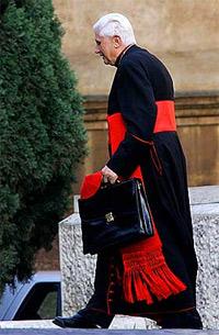 'Joseph Ratzinger as Cardinal', 2005, CamilloPIZ