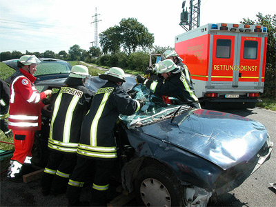 'Verkehrsunfall', 2006, Hendrike