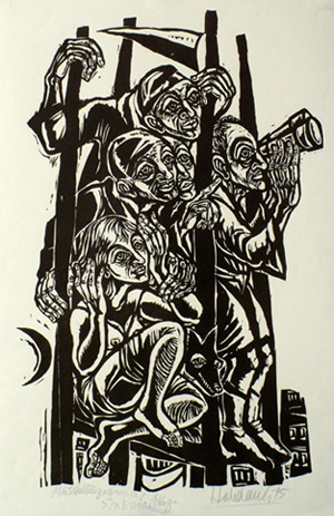 'In Erwartung', 1975 - Walter Habdank. © Galerie Habdank