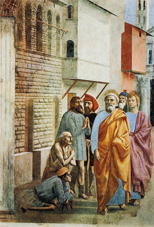 'St. Peter Healing the Sick with His Shadow', Editrice Giusti, Firenze 1998, Dmitry Rozhkov, 2009