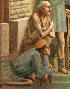 'St. Peter Healing the Sick with His Shadow', 1424-1425 ca., John T. Spike, Masaccio, Rizzoli libri illustrati, Milano 2002, Sailko, 2009