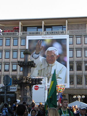 'World Youth Day 2005 Cologne, Welcome-Poster', 2005, Superbass