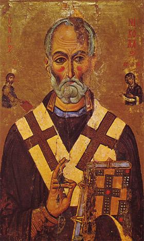 'Halbfigurenbild des Heiligen Nikolaus von Myra. Erste Hälfte des 13. Jahrhunderts', 2008, McLeod