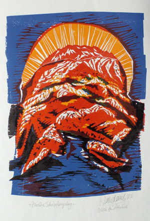 'Zweiter Schöpfungstag', 1987 - Walter Habdank. © Galerie Habdank