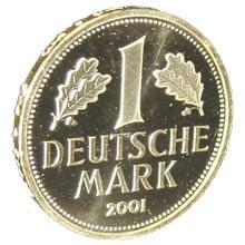 '1-DM-Goldmünze von 2001', Auchwaswisser, 2005
