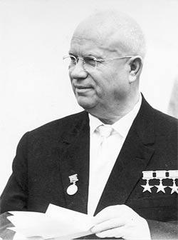 'Nikita S. Chruchstschow  ', 1963, Peter Heinz Junge