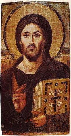 'Jesus Christus, enkaustische Ikone aus dem 6. Jahrhundert', 2008, McLeod