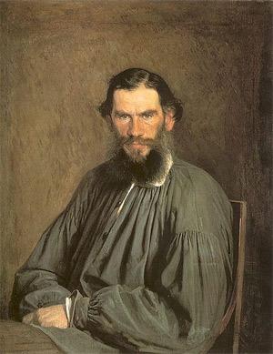 'Portrait of Leo Tolstoy ', 1873, Kramskoi, Ivan Nikolaevich