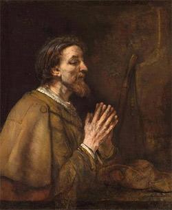 'Sankt Jakobus der Ältere', Rembrandt Harmensz. van Rijn, 1661