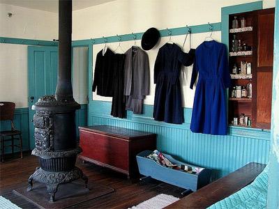 'Amish Farmhouse', Chris York, 2007