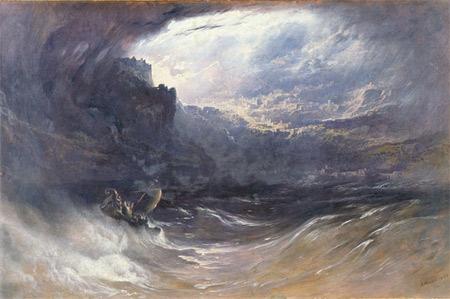 'The Deluge', 1834, John Martin