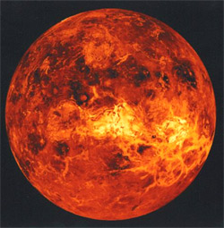 'image of the planet Venus from the NASA', Yarl, 2006