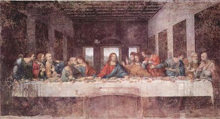 'Das Abendmahl', Leonardo da Vinci, 1495-1497