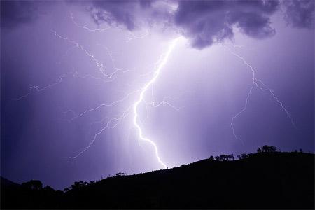 'Lightning strike', Fir0002, 2007