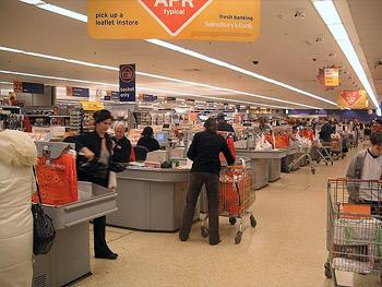 'Supermarket check out', 2005, Velela