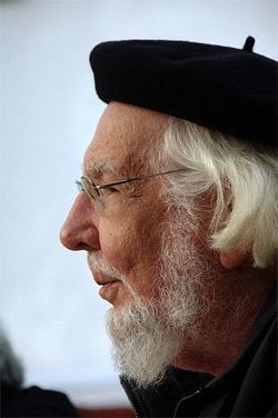 'Ernesto Cardenal a la Chascona', 2009, Roman Bonnefoy