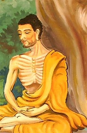 'Siddhartha Gautama meditating', 2007, Sacca