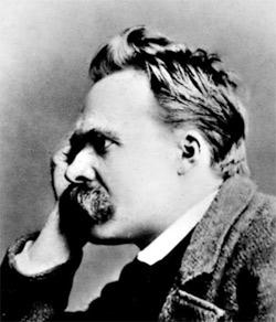 'Portät Friedrich Nietzsches', 1882, Gustav-Adolf Schultze