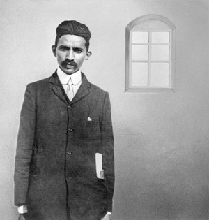 Gandhi during the early days of legal practice', Johannesburg, 1900