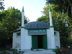 'Nuur-Moschee in Frankfurt', 2007, rupp.de