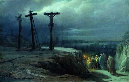 'Ночь на Голгофе', Vasily Petrovich Vereshchagin, 1835–1909