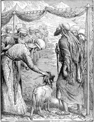 'Sending Out the Scapegoat', William James Webb, 1830—1904