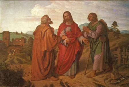 'Der Gang nach Emmaus', Joseph von Führich, 1837