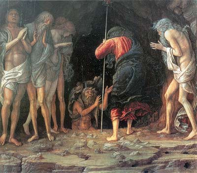 'Christ's Descent into Limbo', 1470–75, Andrea Mantegna