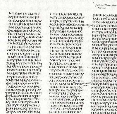 'Sinaiticus text'