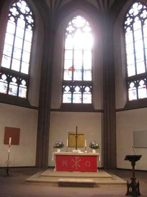 Ostfenster der Dreikönigskirche, PSch