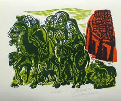 'Exodus', 1975 - Walter Habdank. © Galerie Habdank